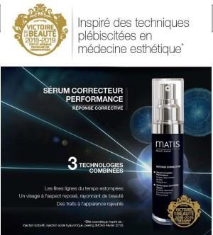 SERUM CORRECTEUR PERFORMANCE FLACON POMPE 30ML