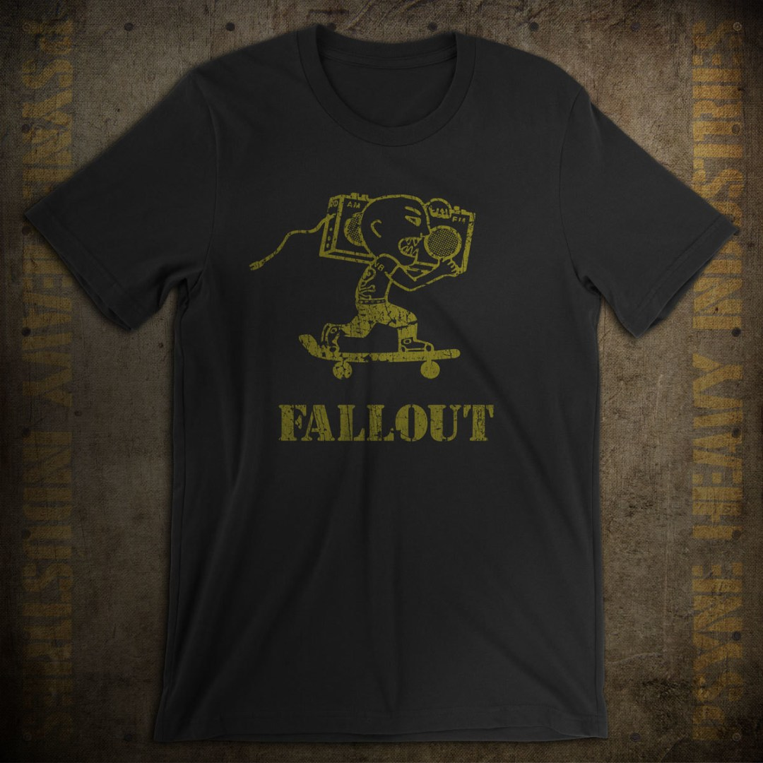 Fallout Records & Skateboards Vintage T-Shirt