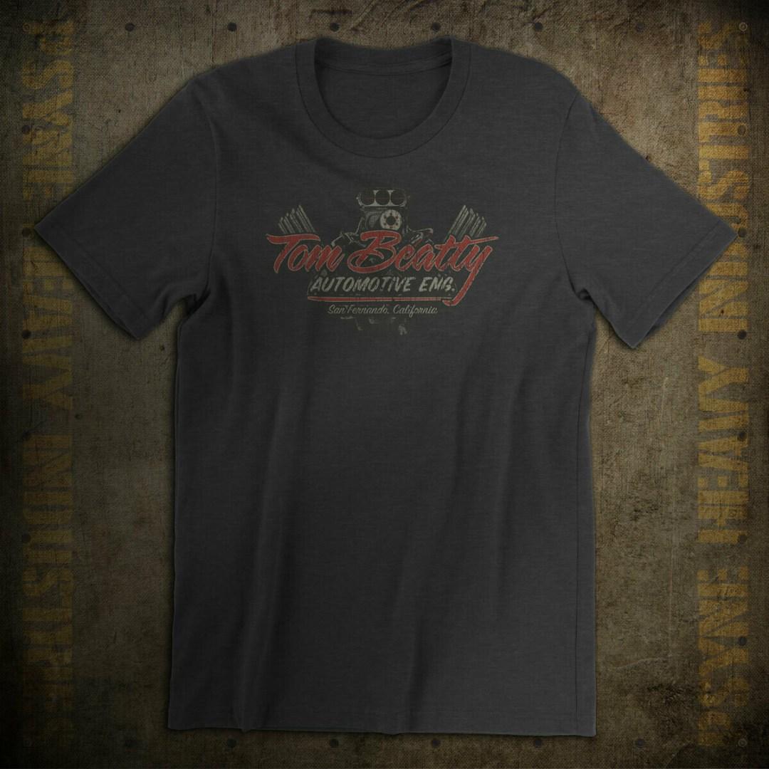 Tom Beatty Automotive Engineering Vintage T-Shirt