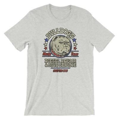 Bulldog's Diesel Repair & Stud Service Vintage T-Shirt
