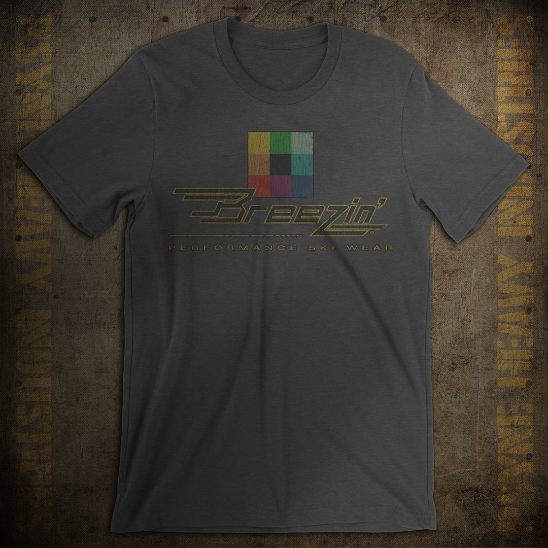 Breezin' Performance Ski Wear ​Vintage T-Shirt