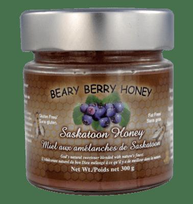 Saskatoon Honey