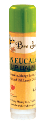 Lemon Eucalyptus Lip Balm