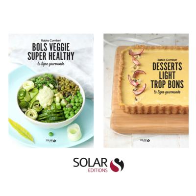 PACK SOLAR - DESSERTS LIGHT TROP BONS & BOLS VEGGIE SUPER HEALTHY