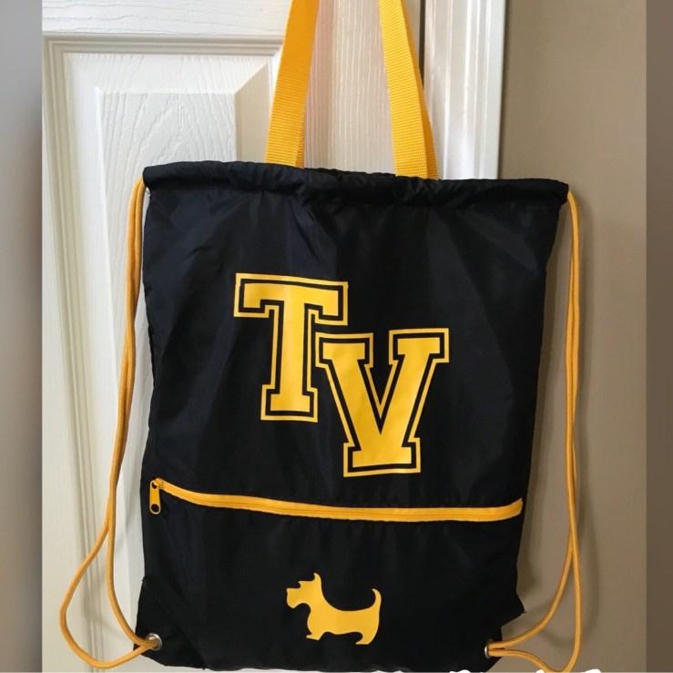 Reversible Cinch Bag