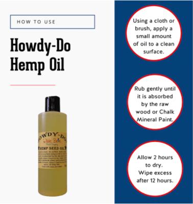 Dixie Belle Howdy-Do! Hemp Seed Oil