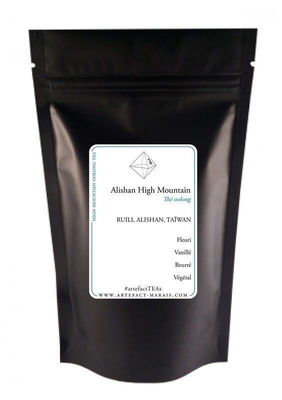 Alishan High Mountain Oolong: Paquet de 100g