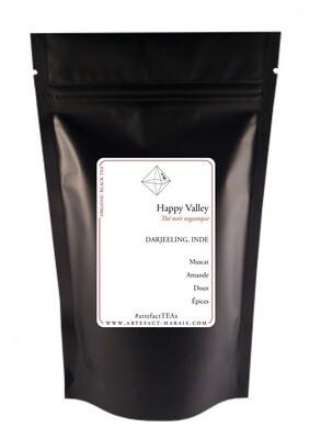 Happy Valley [Thé noir BIO, Darjeeling, Inde]