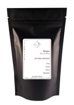 Ifriqiya [Thé noir à la bergamote, thé vert à la menthe & Hibiscus]