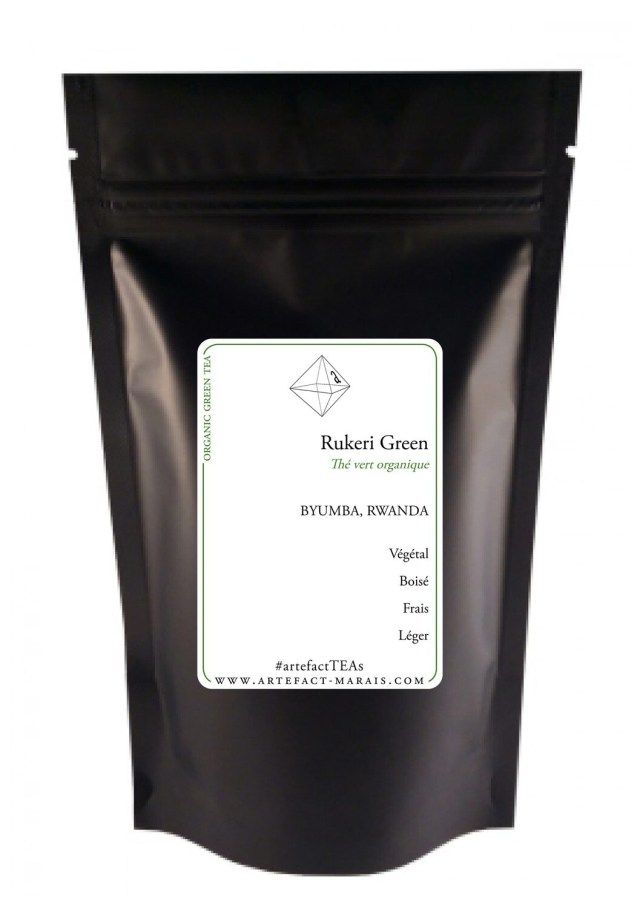 Rukeri Green [Thé vert BIO du Rwanda]
