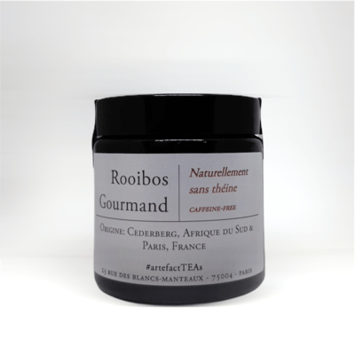 Rooibos Gourmand: Amber Jar 50g