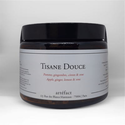 Tisane Douce [Pomme, Gingembre, Citron, Rose] :  Amber Jar 100g