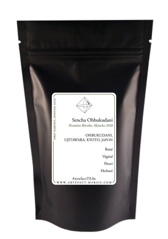 Sencha Ohbukudani : Paquet de 50g