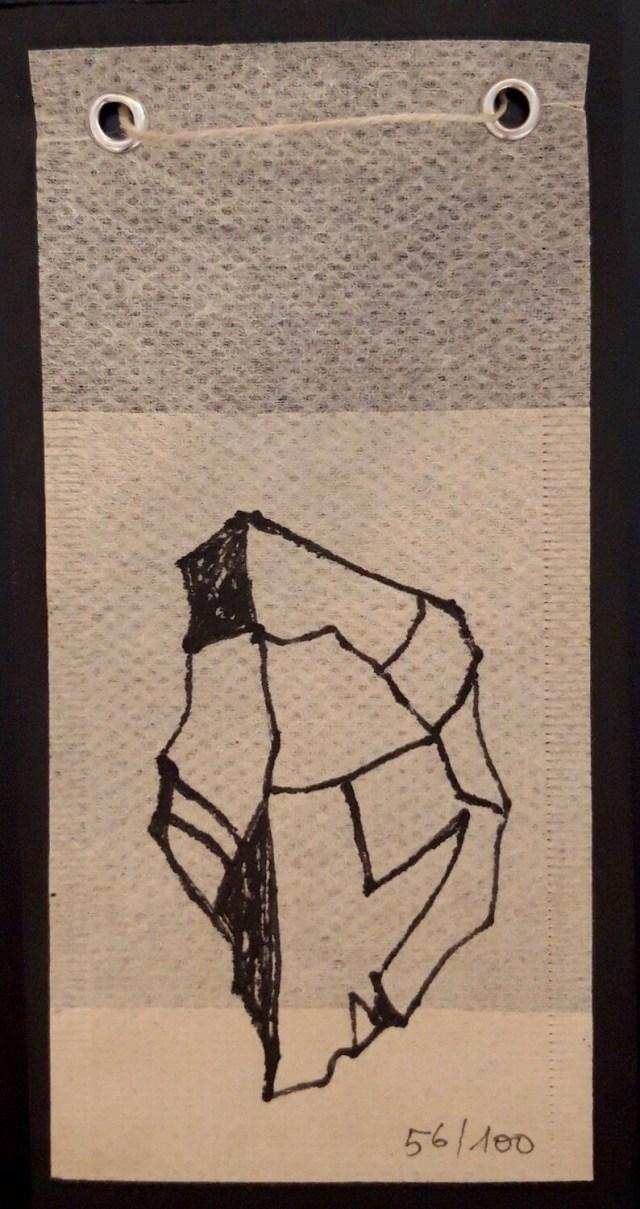 Tea Bag Drawing #56 | Rita Alaoui