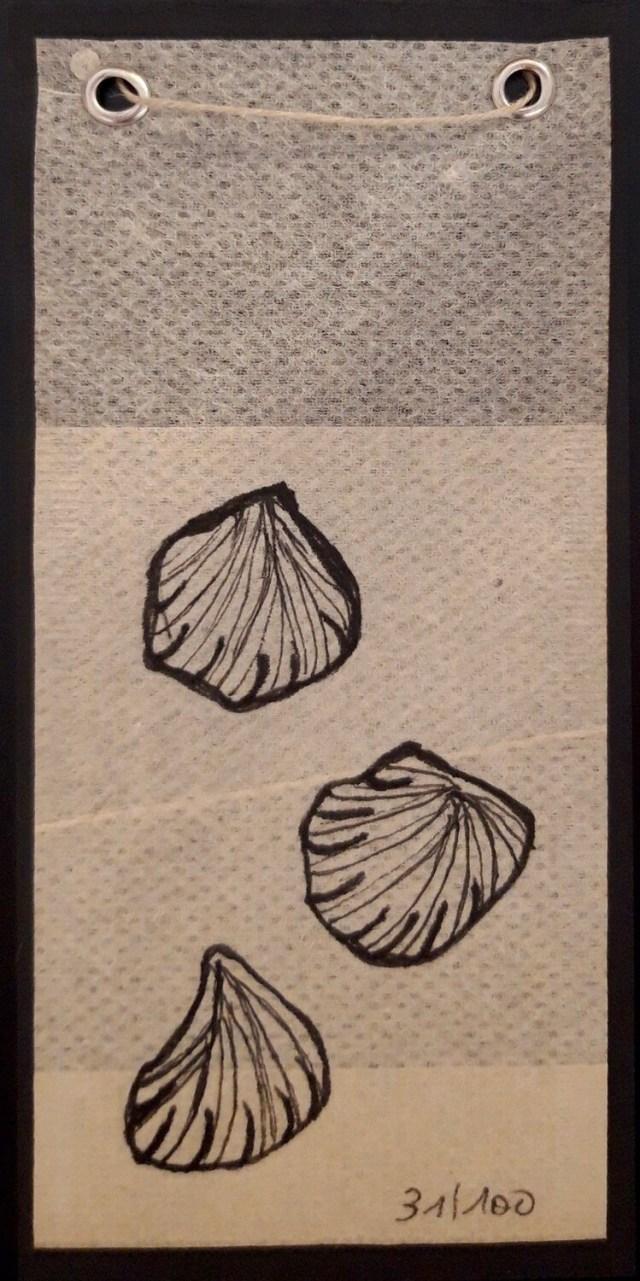 Tea Bag Drawing #31 | Rita Alaoui
