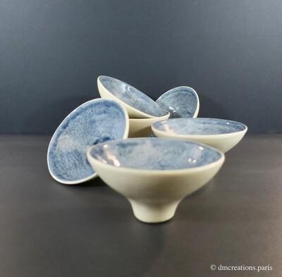 Tasse à thé en faïence émaillé | Collection Nara