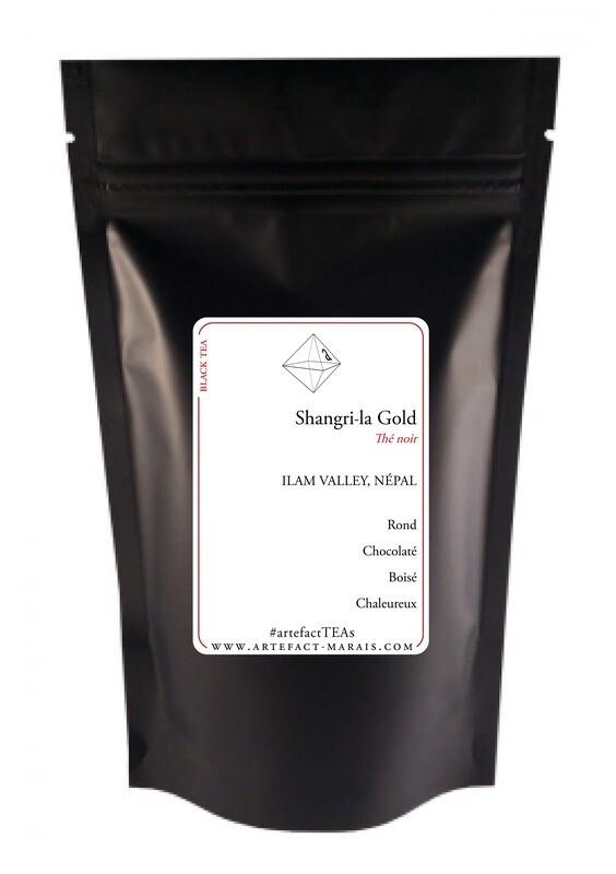 Shangri-la Gold [Thé Noir du Népal] : Paquet de 50g