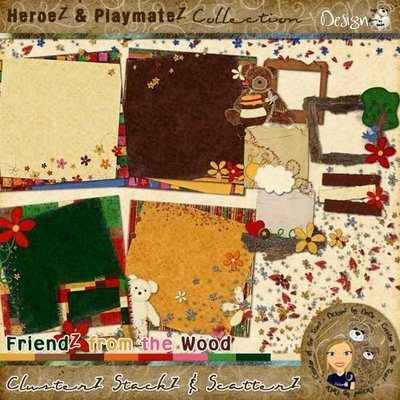 FriendZ from the Wood: ClusterZ StackZ & ScatterZ