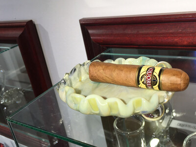 Lime Green Cigar Ash Or Jewelry Tray