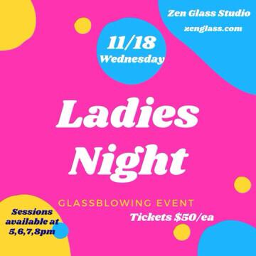 Ladies Night Wednesday November 18th 7pm