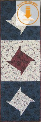 Abbey Star Table Runner - PDF