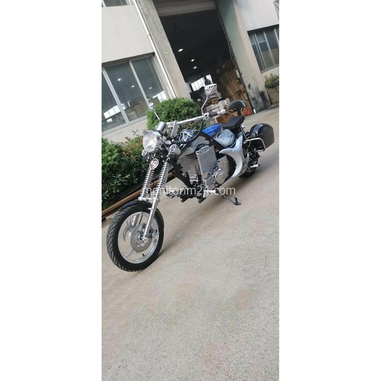 Чоппер электромотоцикл