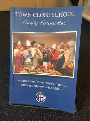 Town Close School Family Favourites Recipe book