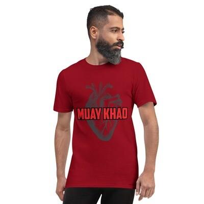 Muay Khao Heart Shirt - Red