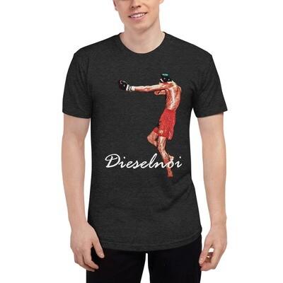 Dieselnoi - Ruup Muay (Dark), incls XS - Tri-Blend Track Shirt variation