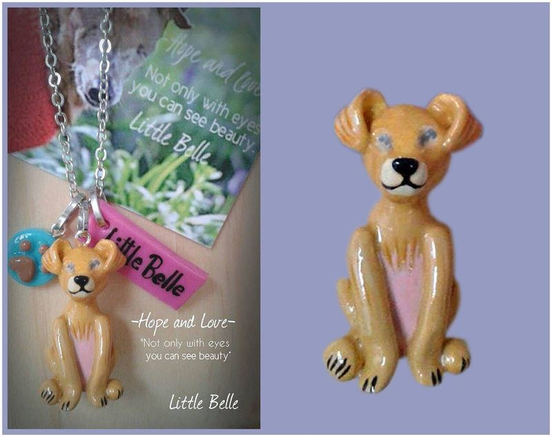 Little Belle Necklace 'Hope and Love' Pre-order