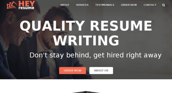 heyresume com starter site sold on flippa resume writing