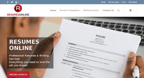 resumes online com starter site sold on flippa resume templates