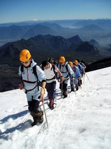 Volcán Villarrica, région du lac de Pucon, Chili