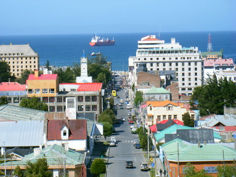 rue Fagnago, Punta Arenas, Détroit de Mallagan Chili