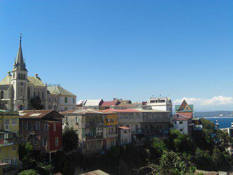 Cerro Playa Ancha, Valparaiso, Chili
