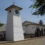 Kirchturm in Guane