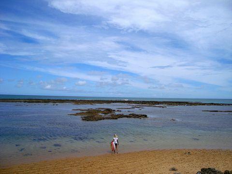 Strände Brasilien - Praia do Espelho in Bahia