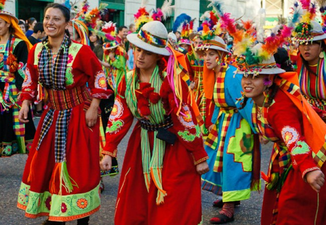 Tinku, Fiesta de la Chakana 2013