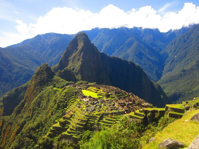 Machu Picchu makes for one of the best places to go for christmas