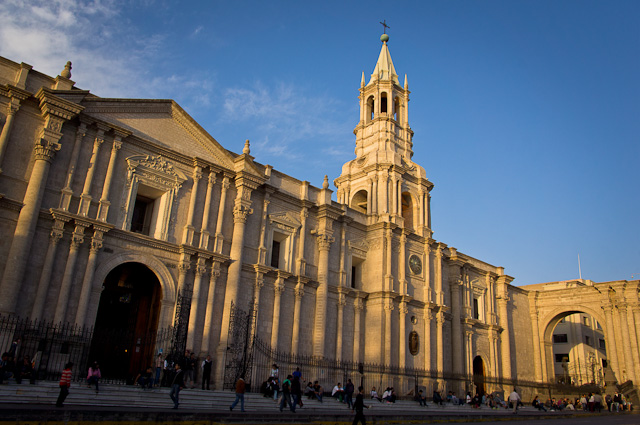 Cathedral in Arequipa, Peru