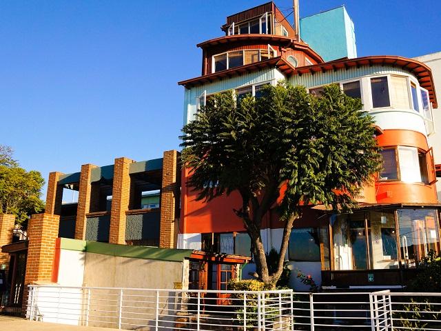 La Sebastiana, résidence de Pablo Neruda, Valparaiso, Chili
