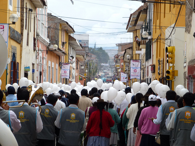 Jour de fete Ayacucho Perou