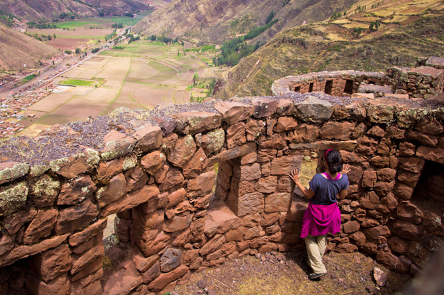 View from the ruins at Pisac, Peru