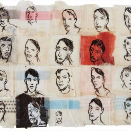 Nicole Eisenman-Twenty Self-Portraits-1995