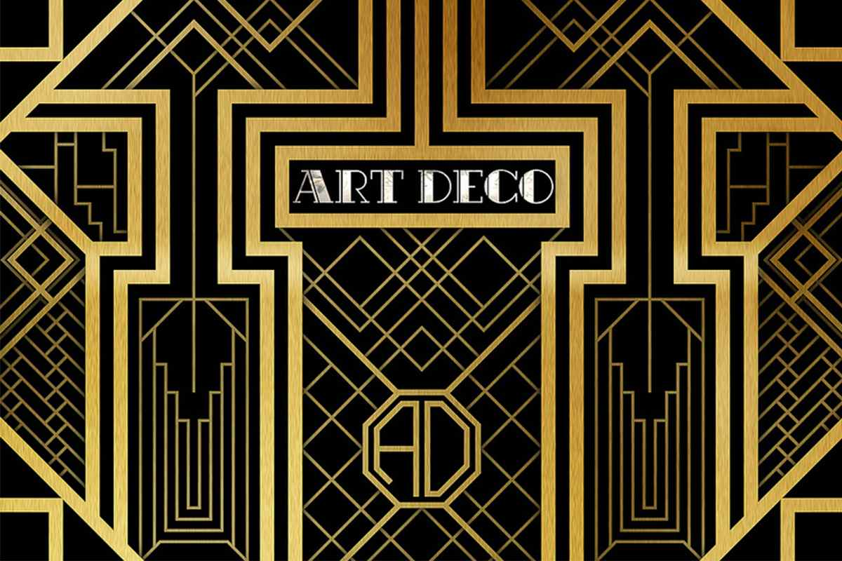 Art Deco Period Style Characterized By Its Beauty