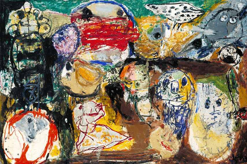 Asger Jorn - Letter to my Son - Image via tateorguk