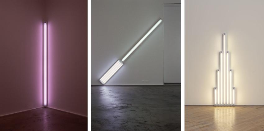 Fluorescent Light Art