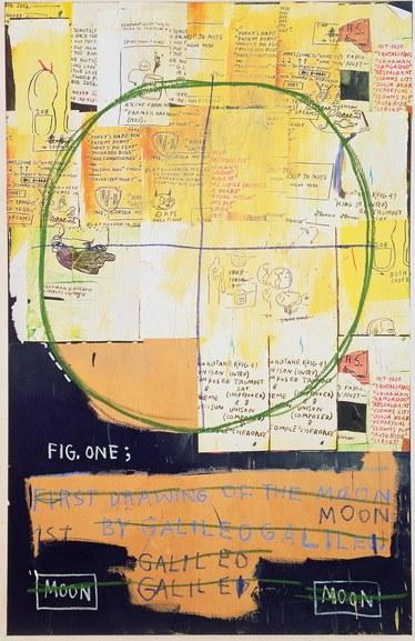 Jean-Michel Basquiat - Galileo Galilei