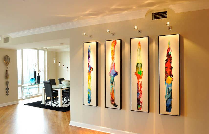 lighting for your artwork