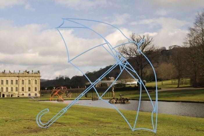 Michael Craig-Martin – Umbrella(blue), 2011